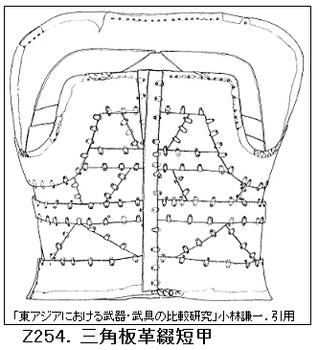 Z254.三角板革綴短甲.png